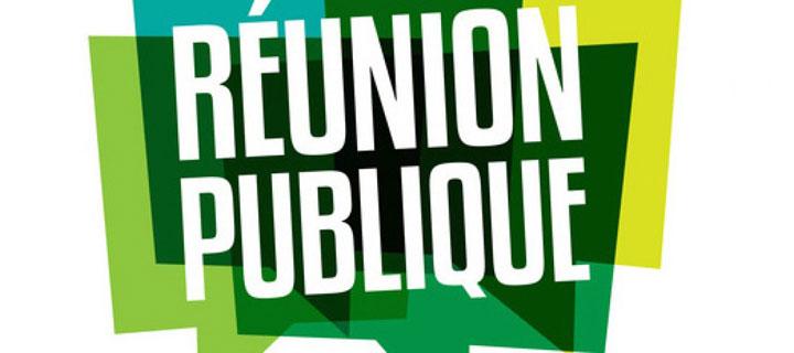 Deux réunions publiques sont prévues courant mars, cliquez pour plus d'infos
